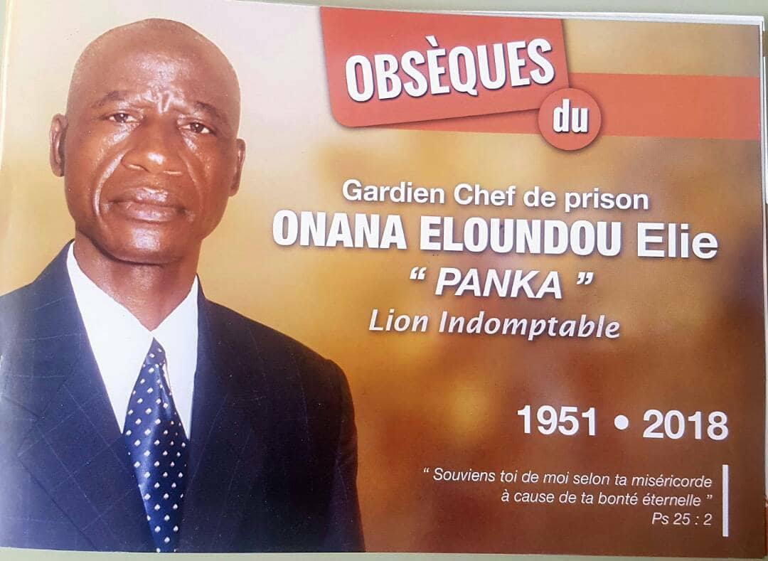 L'ancien lion indomptable Onana Elie Eloundou sera inhumé le samedi…