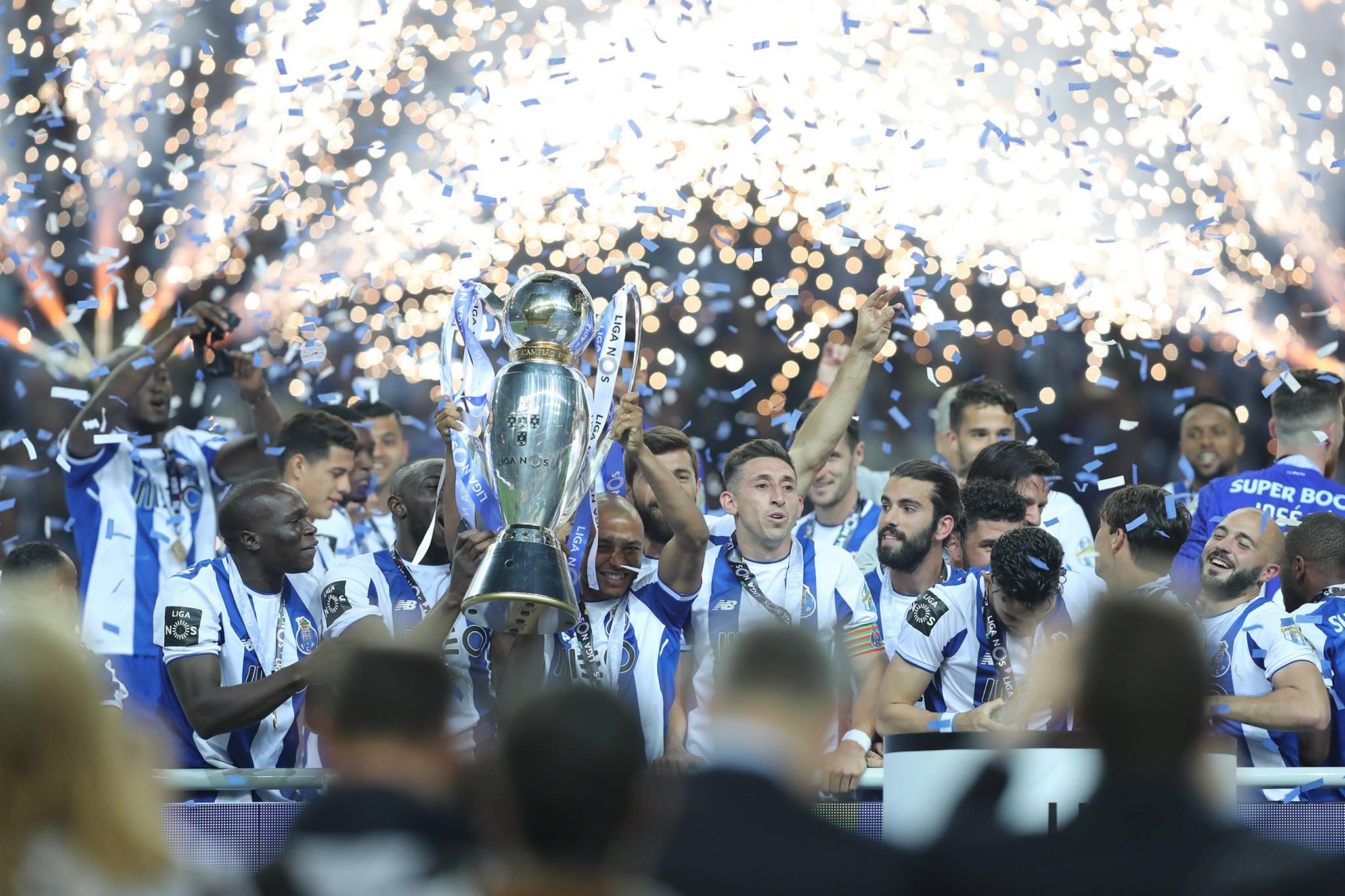 Vincent Aboubakar champion du Portugal avec Porto