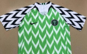 Coupe du monde Russie 2018 : les maillots du Nigéria…