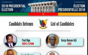 Présidentielle 2018 : 9 candidats validés sur 28 au départ