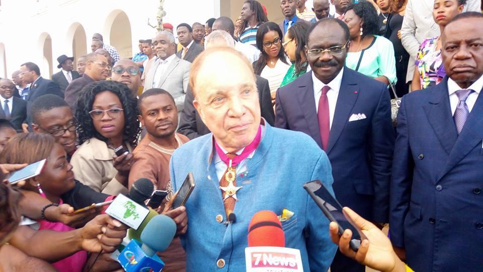 Pierre-Marcel Favre décoré par l'Etat du Cameroun et son Président…