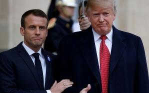 Donald Trump se moque d'Emmanuel Macron sur Twitter
