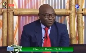 Roger Chantal Tuile annonce qu'il sera condamné à la prison…