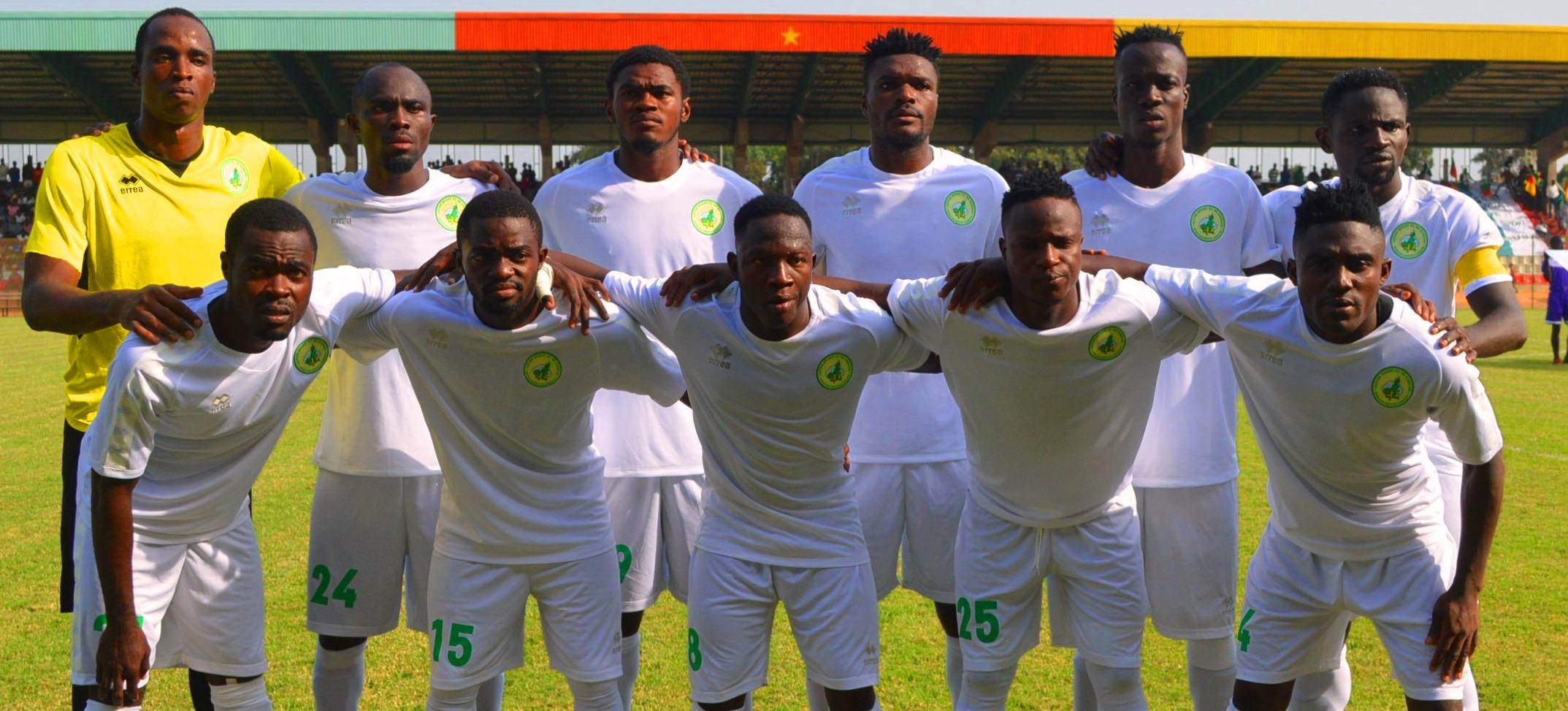 Coton Sport entretient l'espoir d'une victoire face à Asante Kotoko