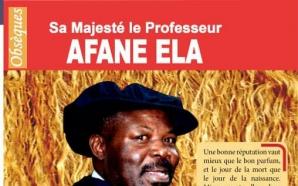 Le Cameroun perd un grand réanimateur : le Pr AFANE…