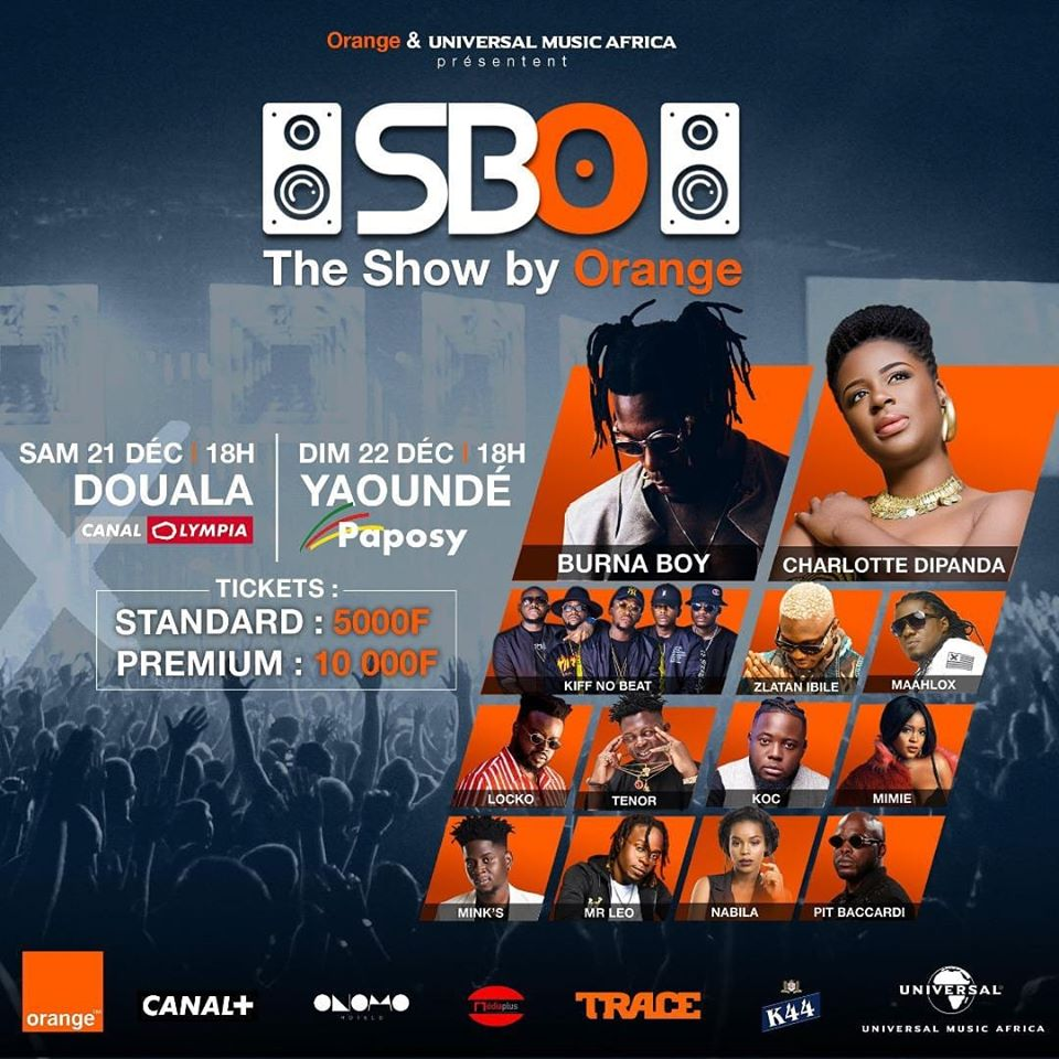 Orange organise deux concerts inédits à Douala et Yaoundé