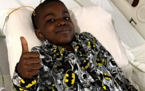 Ce garçon de 8 ans célèbre sa victoire contre le…