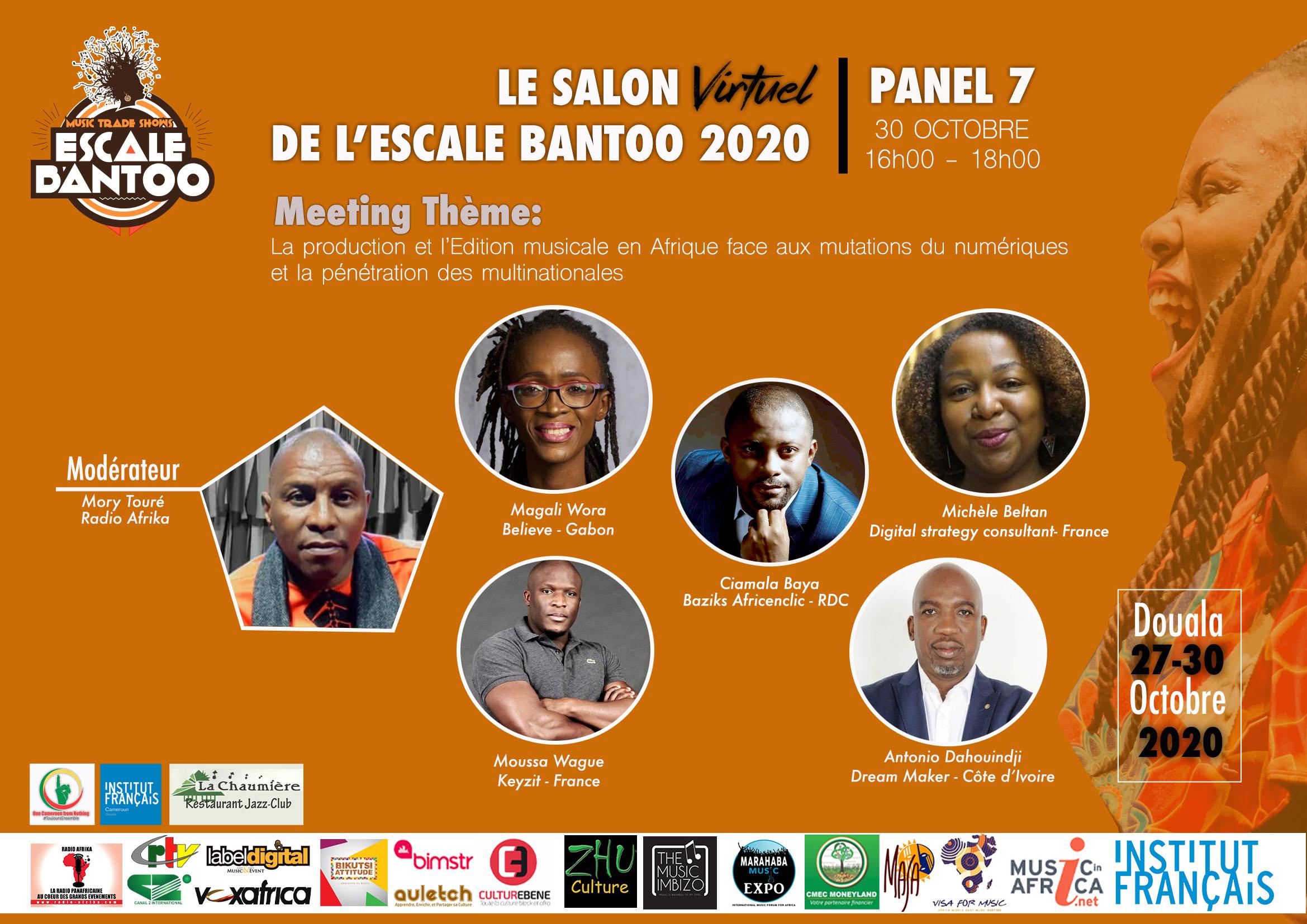 Salon Virtuel de l'Escale Bantoo : des conférences pour déconstruire…