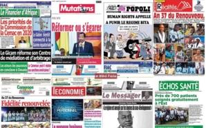 Le réseau des patrons de la presse du Cameroun annonce…